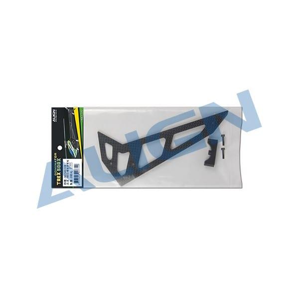 Align Trex 500X Carbon Fiber Vertical Stabilizer H50T009XX