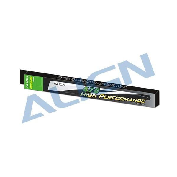 Align Trex 500X (ONLY) 470 Carbon Fiber Blades HD470A