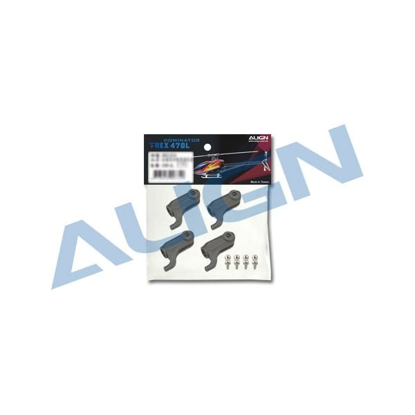 Align Trex 470L Plastic Main Rotor Holder H47H014XX