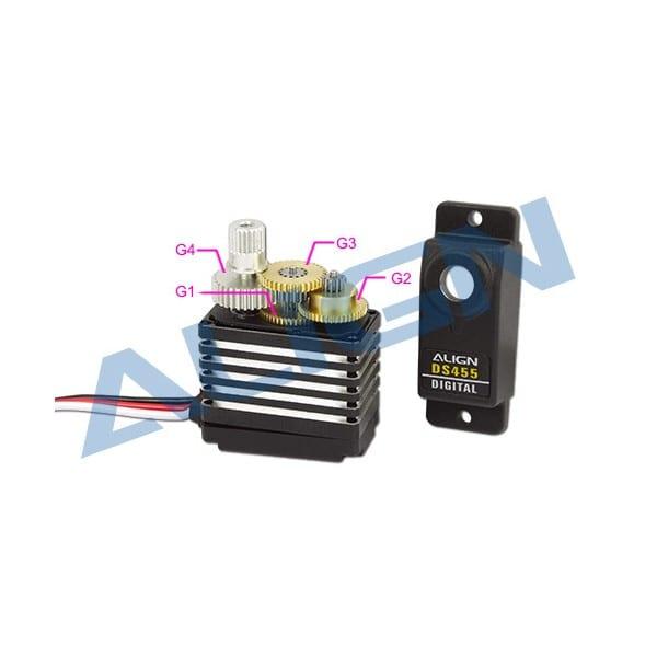 Align DS455 Servo Gear Set HSP45502 for DS455 and DS455M Servos