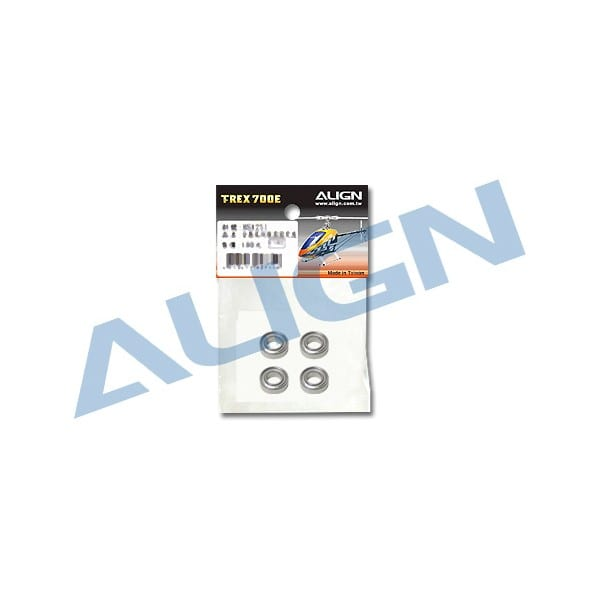 Align Trex 700X/700L/700E/800E Bearing (MR686ZZ) H70R001XX