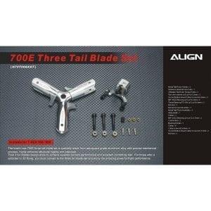 Align Trex 700E Three Blade Tail Rotor Set H70T008XX