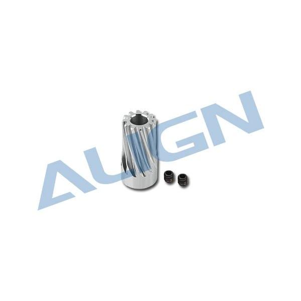 Align Trex 500L/500X Motor Slant Thread Pinion Gear 12T H50G004XX