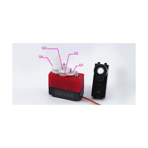 Align DS150/DS155 Servo Gear Set HSP15001