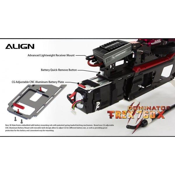 Align Trex 760X TOP Combo RH76E01X