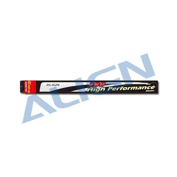 Align Trex 760X (760) Carbon Fiber Blades HD760A