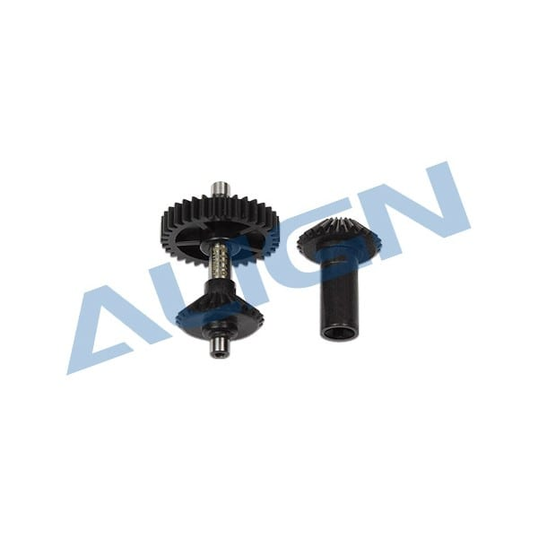Align Trex (500X Only) M0.7 Torque Tube Front Drive Gear Set / 34T H50G013XX