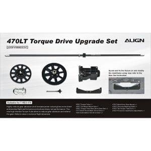 Align Trex 470LT Torque Drive Upgrade Set H47T029XX