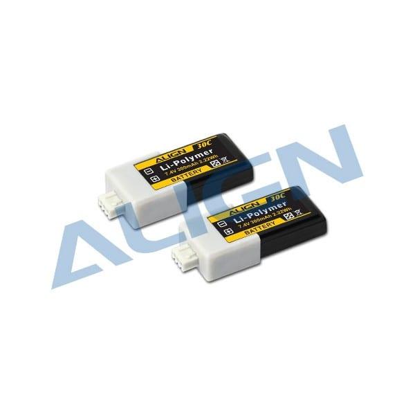 Align Trex 150 Lipo Battery 2S1P 7.4V 300mAh/30C HBP03001