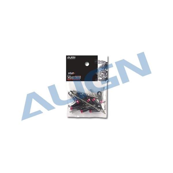 Align Trex 600XN Linkage Rod Set H6NZ001XX