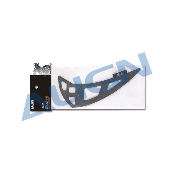 Align Trex 600XN Carbon Fiber Vertical Stabilizer H6NT003XX