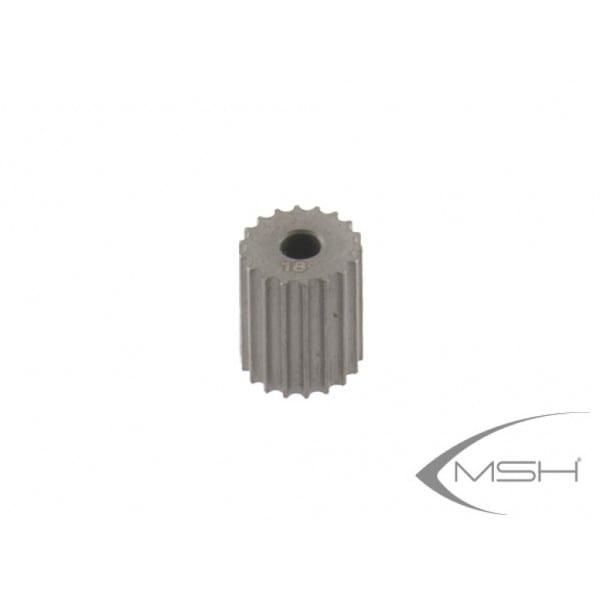 MSH Protos 380 Pinion 03.5 18T MSH41189