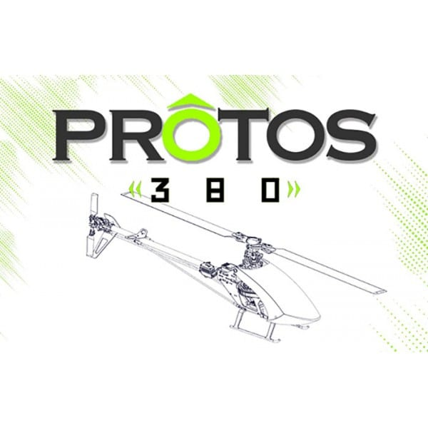 MSH Protos 380 Electric Helicopter Kit XL38K01 (No electronics)