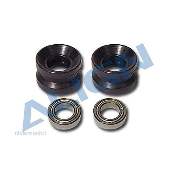 Align Trex 600/700 H60124 Torque Tube Bearing Holder Set