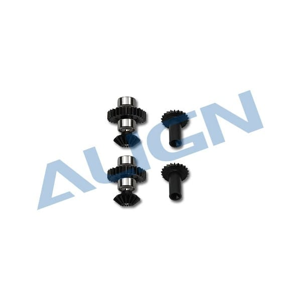 Align Trex 250 H25G001XX M0.4 Torque Tube Front Drive Gear Set/28T