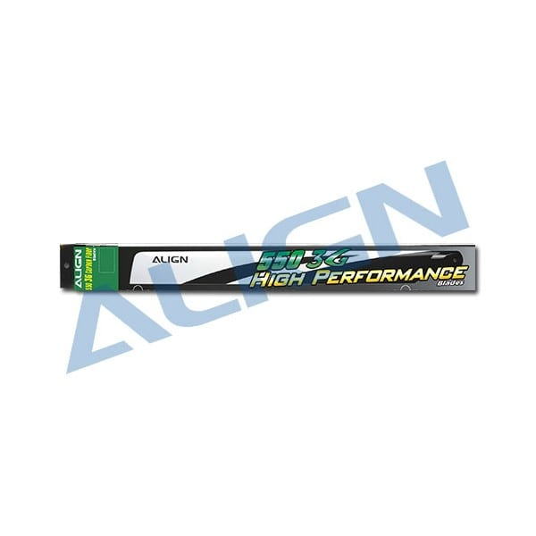 Align Trex 550E HD550B 550 3G Carbon Fiber Blades