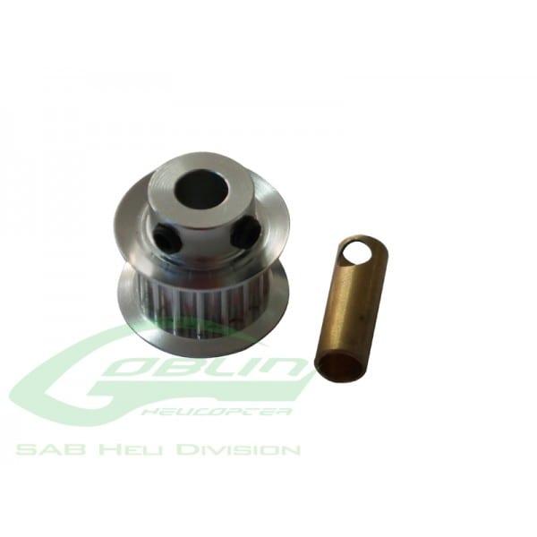 SAB Aluminum Motor Pulley Z16 - Goblin 500/570 H0215-16-S